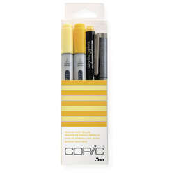 Copic - Copic Doodle Pack 4lü Set Yellow