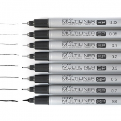 Copic - Copic Multiliner SP Teknik Çizim Kalemi
