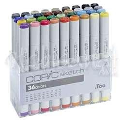 Copic - Copic Sketch 36lı Set Basic Colours
