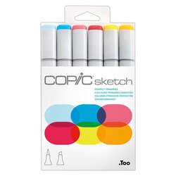 Copic - Copic Sketch Marker 6lı Set Perfect Primaries