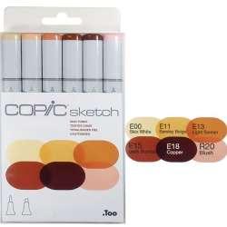 Copic - Copic Sketch Marker 6lı Set Skin Tones