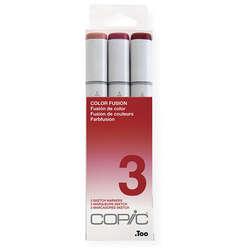 Copic - Copic Sketch Marker Color Fusion 3lü Set 3