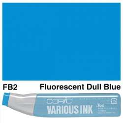 Copic - Copic Various Ink FB2 Fluorescent Dull Blue