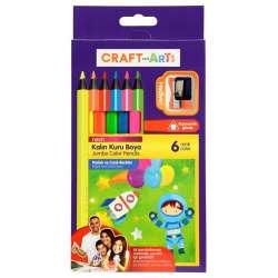 Craft & Arts - Craft&Arts Kuru Boya Jumbo Neon 6lı