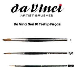Da Vinci - Da Vinci Seri 10 Tezhib Fırçası