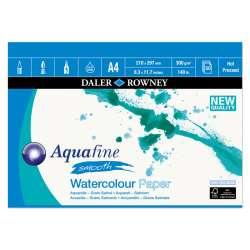 Daler Rowney - Daler Rowney Aquafine Smooth Watercolour Paper 300g A4 12 Yaprak