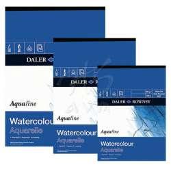 Daler Rowney - Daler Rowney Aquafine Watercolour Pads Not Sulu Boya Blokları 12 Yaprak 300g
