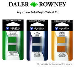 Daler Rowney - Daler Rowney Aquafine Sulu Boya Tablet 2li
