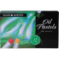 Daler Rowney - Daler Rowney Artists Yağlı Pastel 12li Set