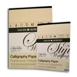 Daler Rowney - Daler Rowney Calligraphy Paper Kaligrafi Kağıdı 90gr 30 Safya