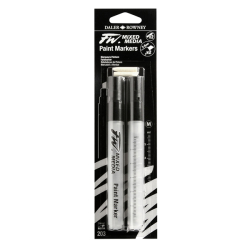Daler Rowney - DR FW Mixed Media Paint Marker Sets 203 2-6mm Kesik Uç (M)