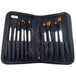 Daler Rowney - DR Graduate Akrilik Boya Fırça Seti 10lu Çantalı 212500100