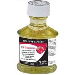 Daler Rowney - Daler Rowney Purified Linseed Oil Saflaştırılmış Keten Yağı 75ml