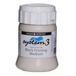 Daler Rowney - Daler Rowney System 3 Block Printing Medium 250ml