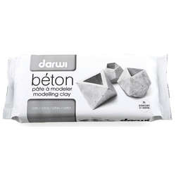 Darwi - Darwi Beton Modelleme Kili 1kg Grey