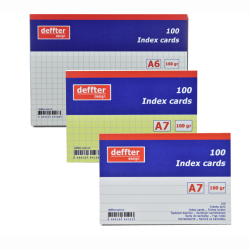 Deffter - Deffter Index Cards