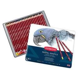 Derwent - Derwent Pastel Pencils Pastel Kalemi 24lü Set 32992