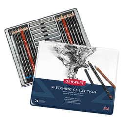 Derwent - Derwent Sketching Collection 24lü Set