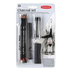 Derwent - Derwent Charcoal Pencils Füzen Seti