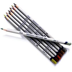 Derwent - Derwent Metallic Pencil Sulu Boya Kalemi