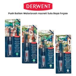 Derwent - Derwent Push Button Waterbrush Sulu Boya Fırçası
