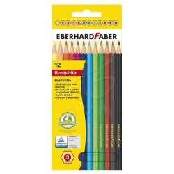 Eberhard Faber - Eberhard Faber Kuru Boya Kalem Seti 12li 3mm 514812