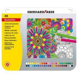 Eberhard Faber - Eberhard Faber Kuru Boya Kalem Seti 3.0mm Metal Kutu 48li 514848