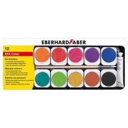 Eberhard Faber - Eberhard Faber Opak Sulu Boya Plastik Kutu 12li 578112