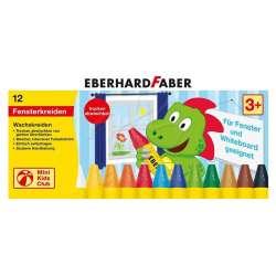 Eberhard Faber - Eberhard Faber Wax Crayons Cama Yazan Pastel Boya 12li 524112