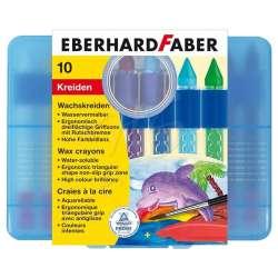 Eberhard Faber - Eberhard Faber Wax Crayons Sulandırılabilir Pastel 10lu 521110