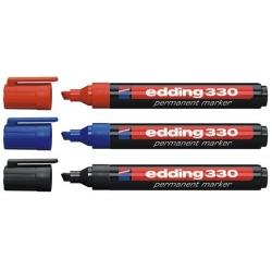 Edding - Edding 330 Permanent Markör Kalem Kesik Uç 1-5mm