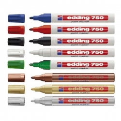 Edding - Edding 750 Paint Markör Kalem 2-4mm