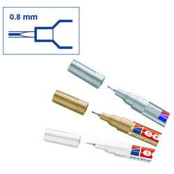 Edding - Edding 780 Gloss Paint Marker Metalik Renkler 0.8mm 3lü Set (1)