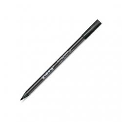 Edding - Edding Fırça Uçlu Porselen Kalemi 1-4mm Black