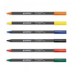 Edding - Edding Fırça Uçlu Porselen Kalemi 1-4mm