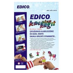Anka Art - Edico 7 Times Küçülen Kağıt Siyah (2li Paket) 20x26 cm