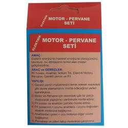 Kar - Elektrik Motor-Pervane Deney Seti (1)