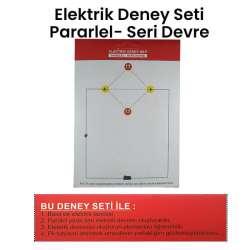 Kar - Elektrik Paralel-Seri Devre Deney Seti