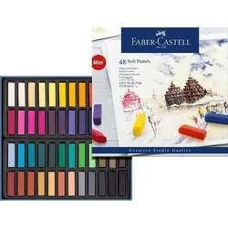 Faber Castell - Faber Castell Creative Studio Yarım Boy Soft Pastel 48li Kod:128248