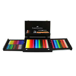 Faber Castell - Faber Castell Art&Graphic Collection Ahşap Kutulu Set 110086 (1)