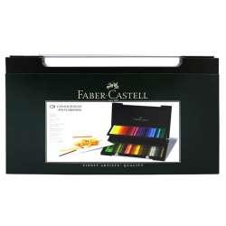 Faber Castell - Faber Castell Polychromos Colour Pencils 120li Set Ahşap Kutu (1)