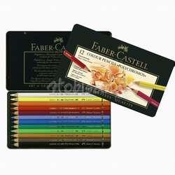 Faber Castell - Faber Castell Polychromos Colour Pencils 12li Set