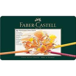 Faber Castell - Faber Castell Polychromos Colour Pencils 36lı Set