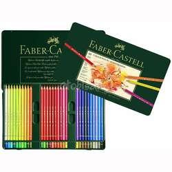 Faber Castell - Faber Castell Polychromos Colour Pencils 60lı Set