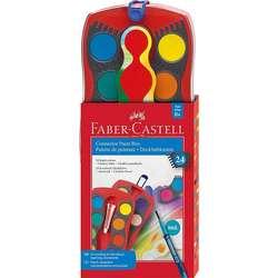 Faber Castell - Faber Castell Connector Sulu Boya Değiştirilebilir Setler 24lü Set