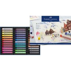 Faber Castell - Faber Castell Creative Studio Tam Boy Soft Pastel 36lı Kod:128326