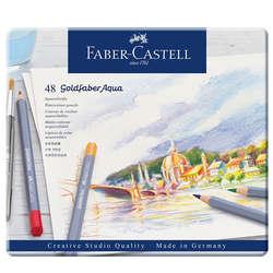 Faber Castell - Faber Castell Goldfaber Aqua Renkli Boya Kalemi 48li 124648 (1)