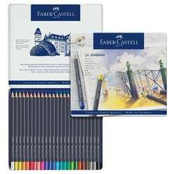 Faber Castell - Faber Castell Goldfaber Renkli Boya Kalemi 24lü Set 114724