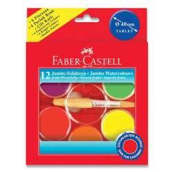 Faber Castell - Faber Castell Jumbo Sulu Boya 40mm 12 Renk 5292125015