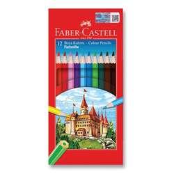 Faber Castell - Faber Castell Kuru Boya Takımı 12 Renk